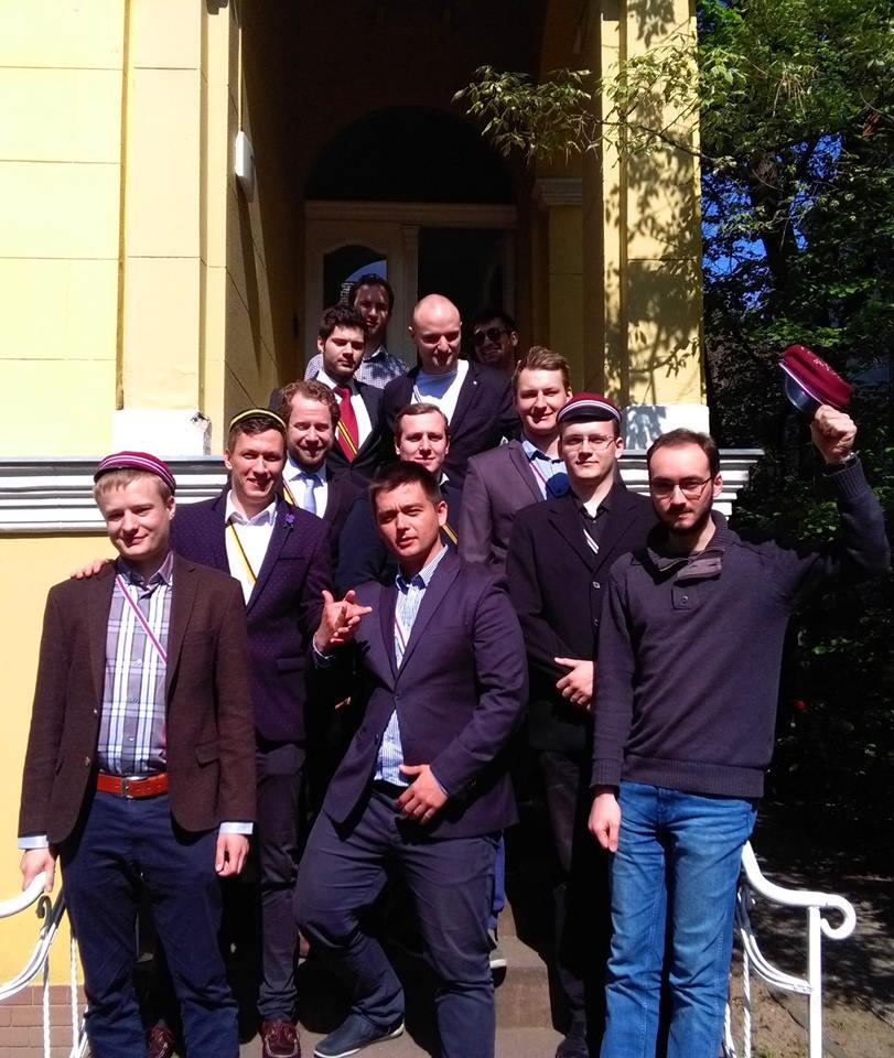 Wizyta u KAV Suevia im CV zu Berlin