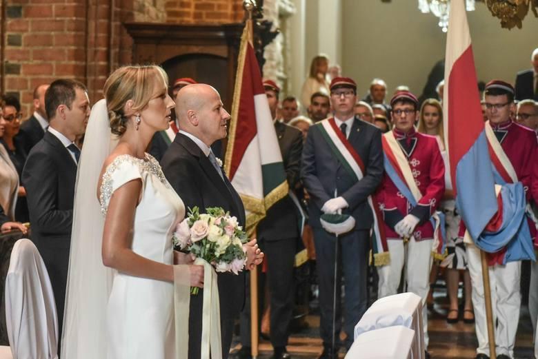 Uroczystość zawarcia związku małżeńskiego Reaktywatora, posła na Sejm Rzeczypospolitej Polskiej Bartłomieja Wróblewskiego