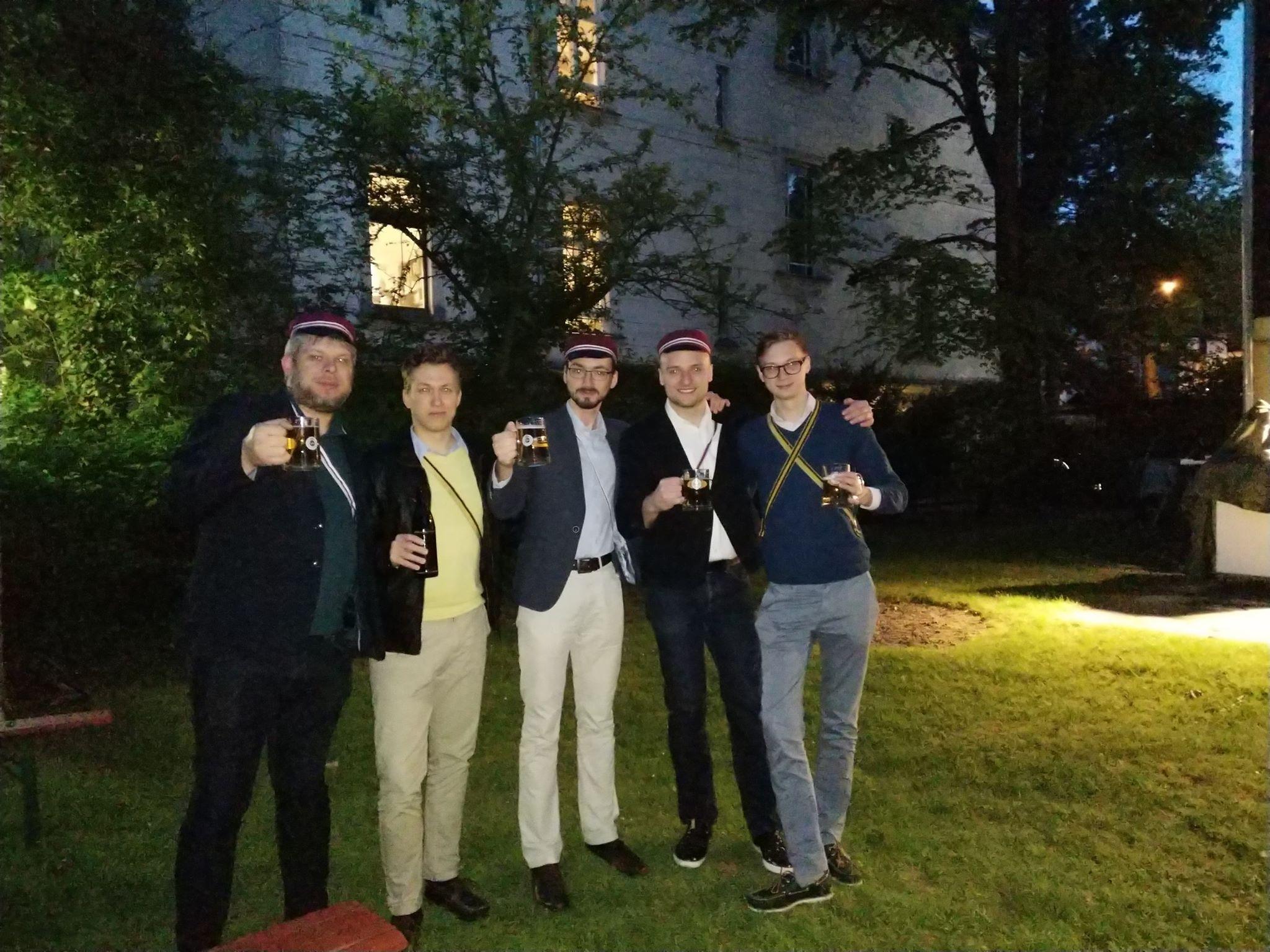 Odwiedziny u KAV Suevia im CV zu Berlin 2018