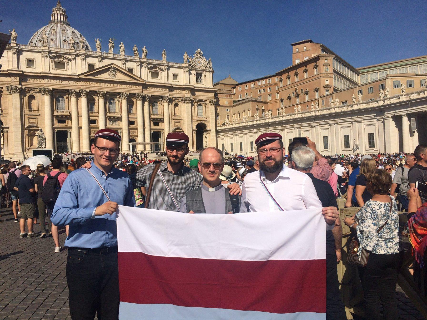 Wycieczka Magna Polonii do Wiecznego Miasta
