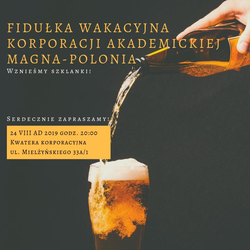 Fidułka wakacyjna 2019