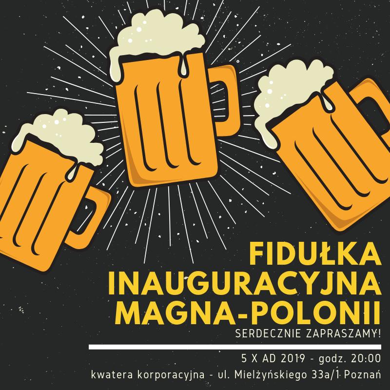 Fidułka inauguracyjna 2019