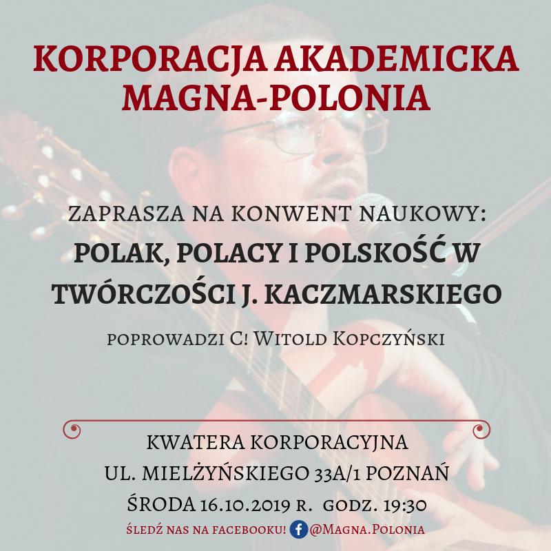 Coetus pt. Polak, Polacy i polskość w twórczości Jacka Kaczmarskiego