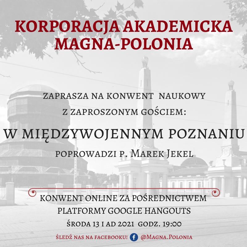 """Konwent naukowy pt. """"W międzywojennym Poznaniu"""""""