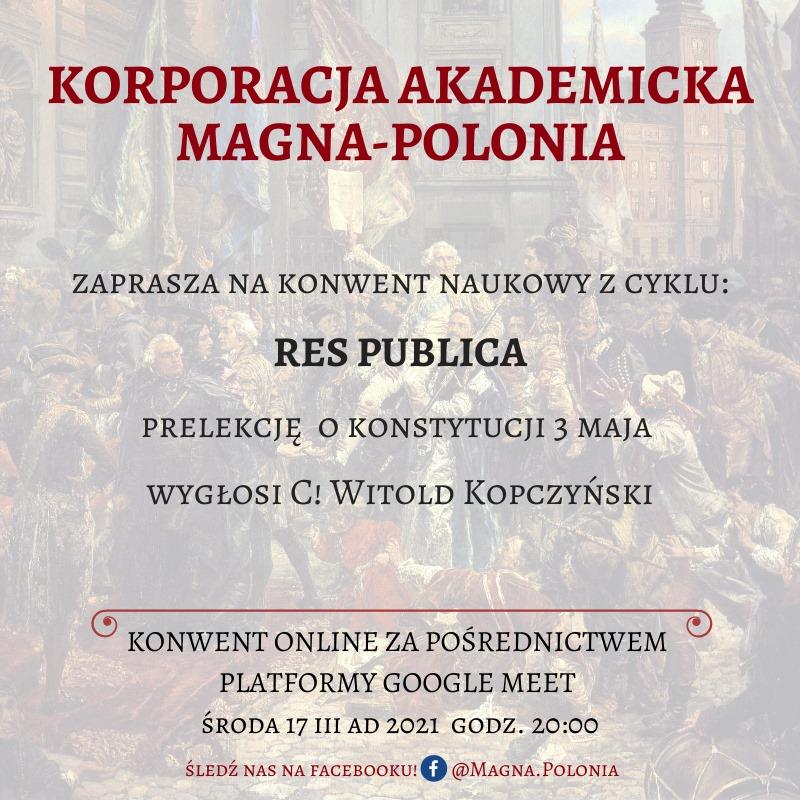 "Konwent naukowy pt. ""Res Publica"""