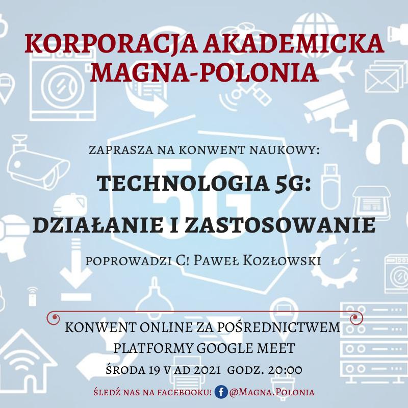 """Konwent naukowy pt. """"Technologia 5G: działanie i zastosowanie"""""""