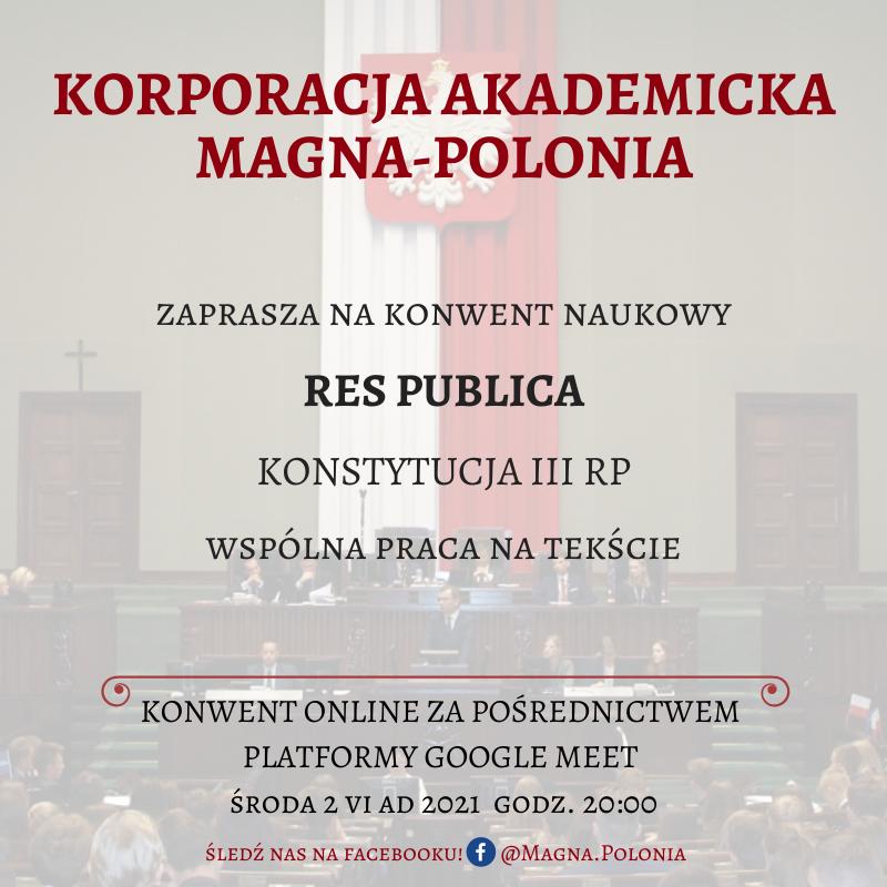"""Konwent naukowy pt. """"Res Publica"""" – wspólna praca na tekście"""